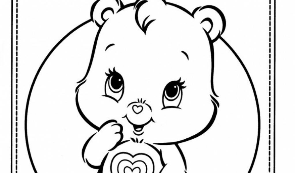 Get This Kids' Printable Care Bear Coloring Pages Free