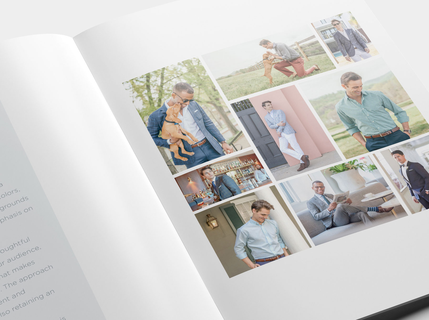 Style guide photography