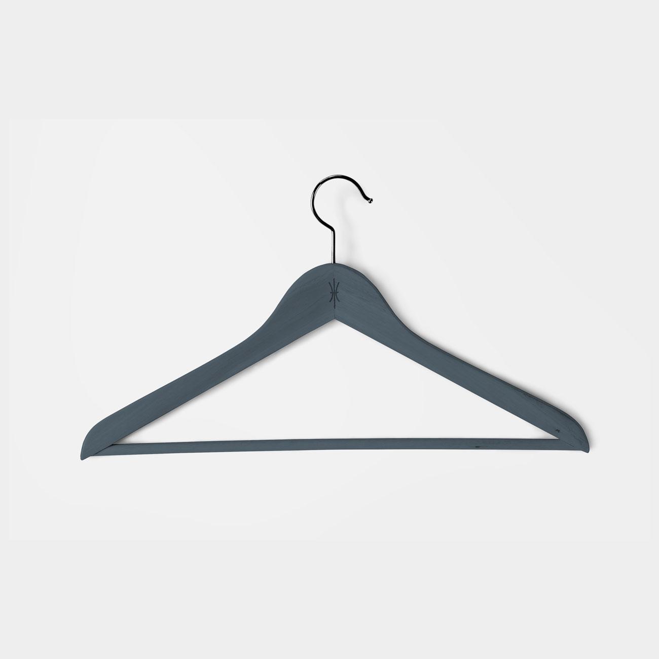 Coat hanger with icon