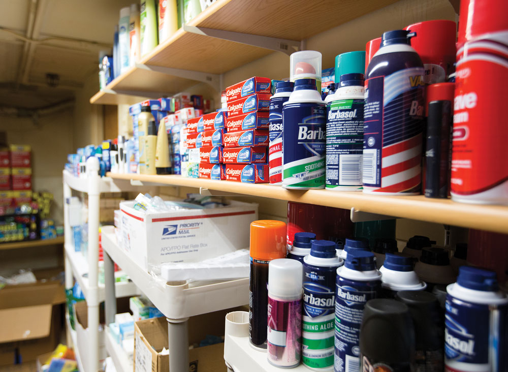 LVS supply closet