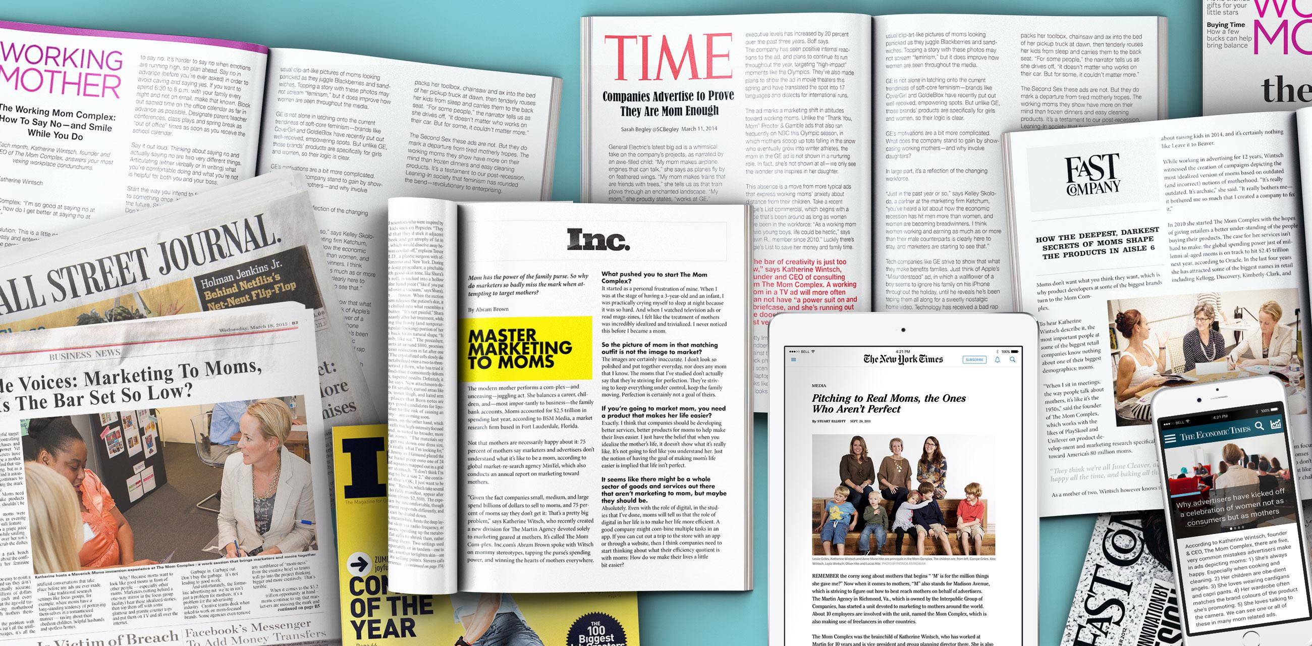 Mom Complex press articles