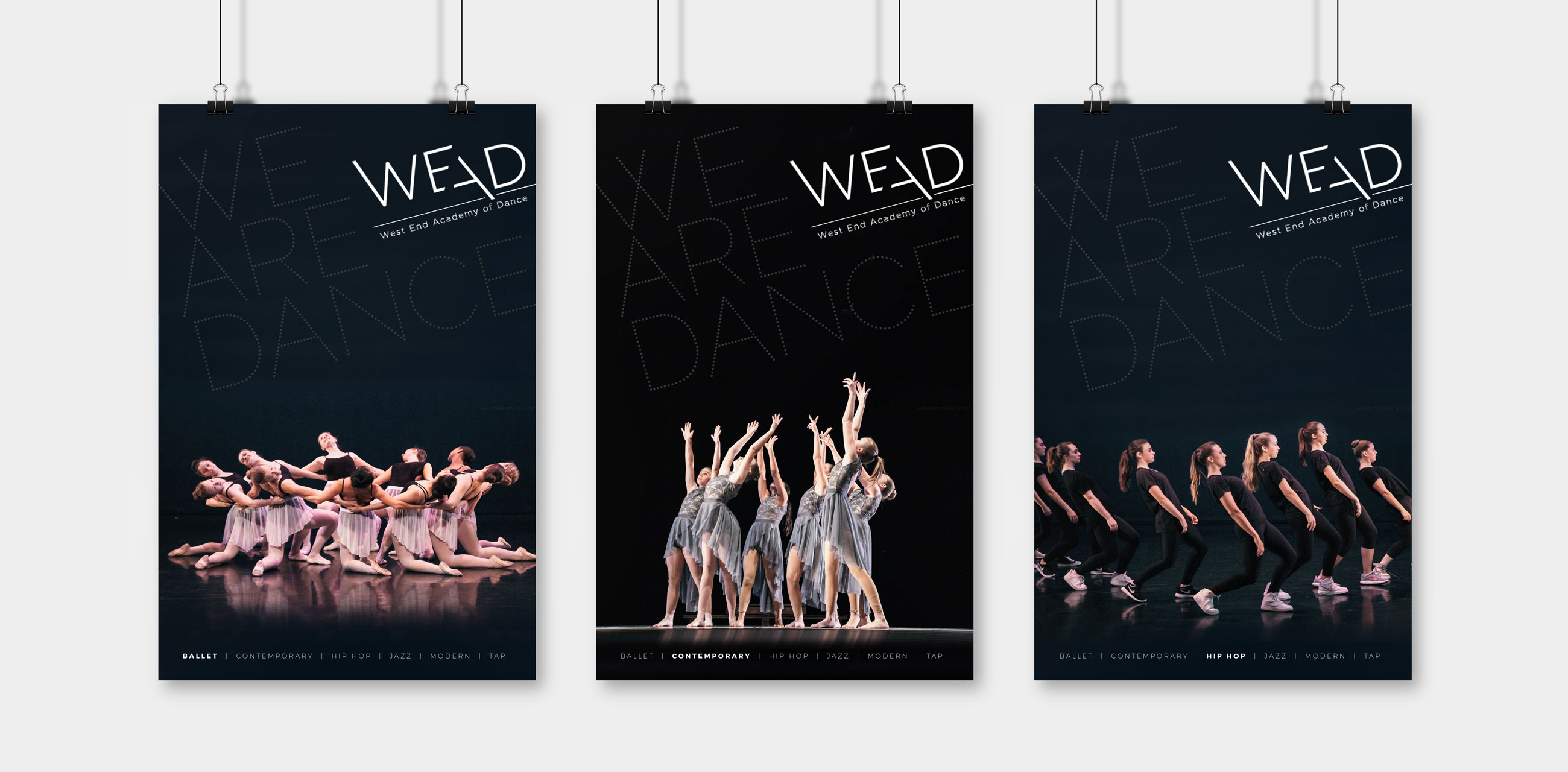 WEAD posters