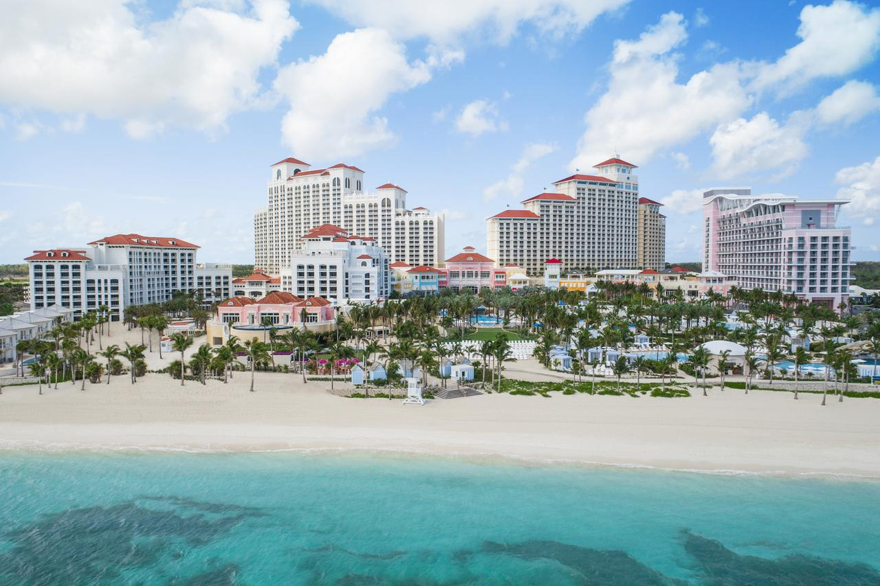 Architectural photo of Baha Mar skyline
