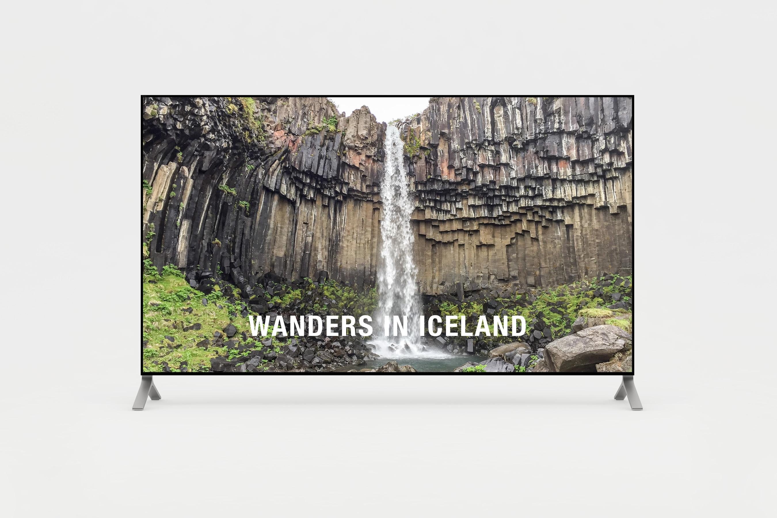 Short film of wanders in Iceland