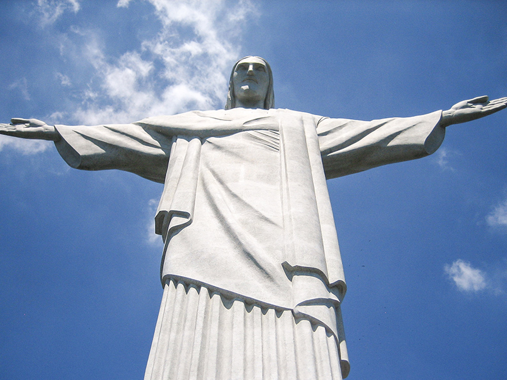 Christ statue in Rio, Brazil