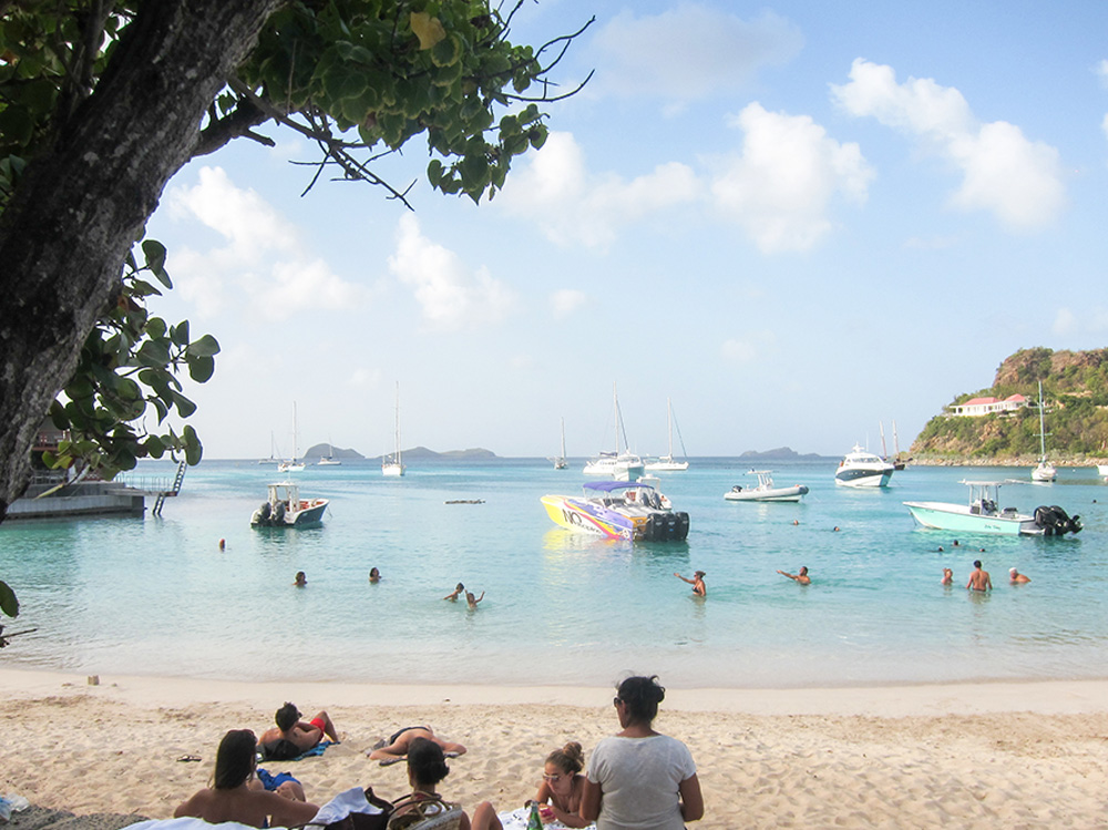 Beach in St. Barts