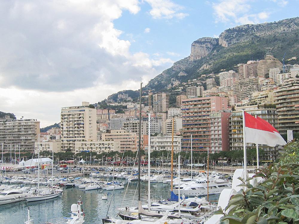 Marina in Monte Carlo, Monaco