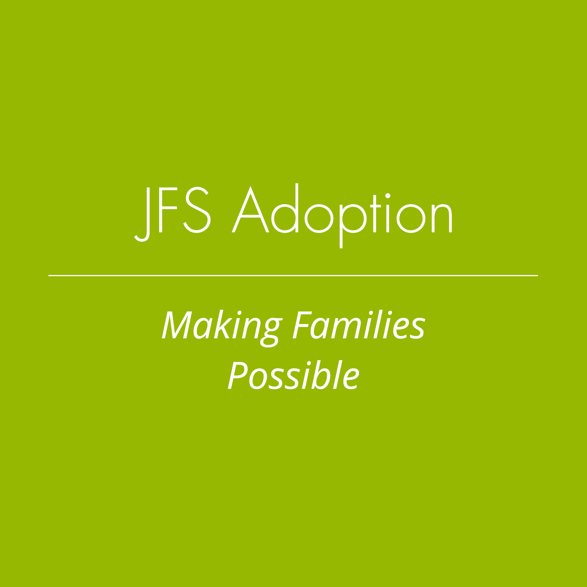 JFS Adoption definition