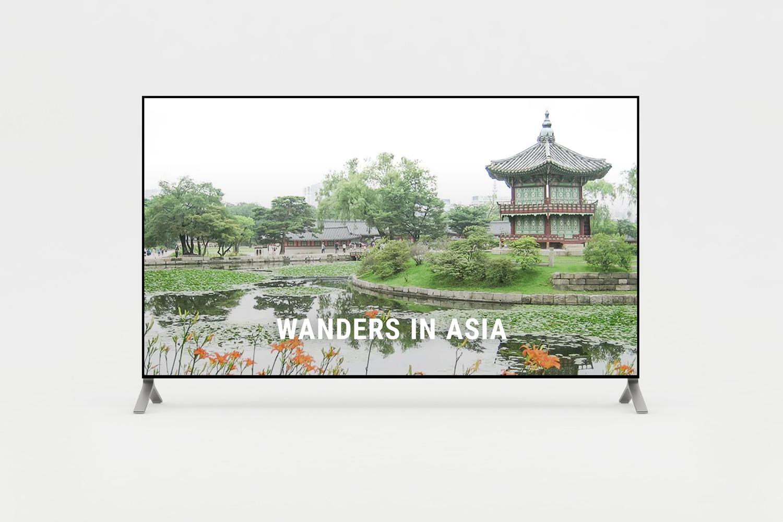 Short film of wanders in Asia
