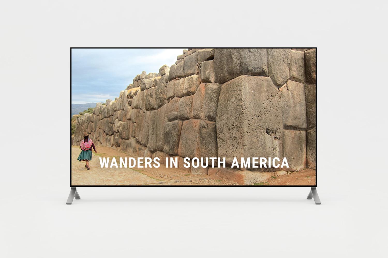 Short film of wanders in South America