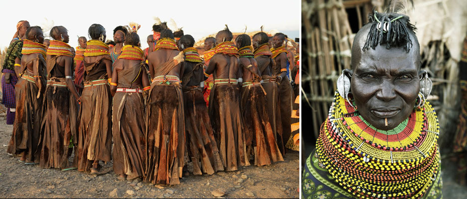Photo of El Moro tribe in Kenya