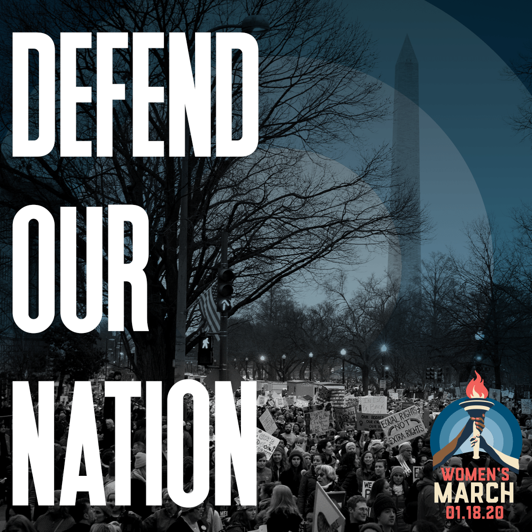 Social media graphic - Defend Our Nation