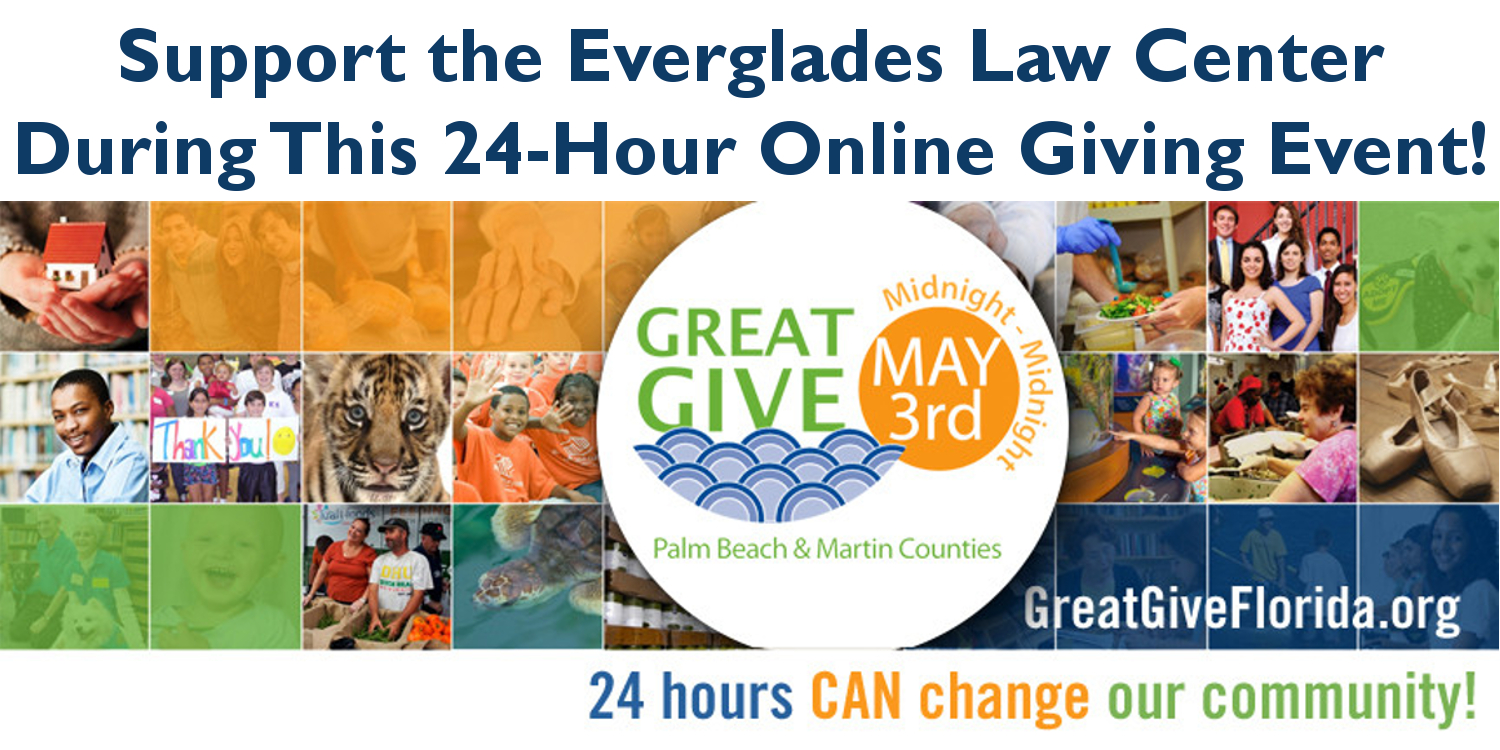 Support the Everglades Law Center during the Great Give 2016