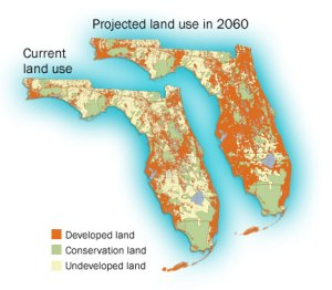 Projected growth by 2060 in Florida