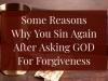 GOD FORGIVENESS