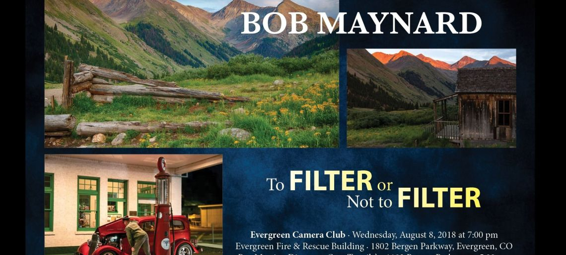 "Bob Maynard ""To Filter or Not to Filter"""