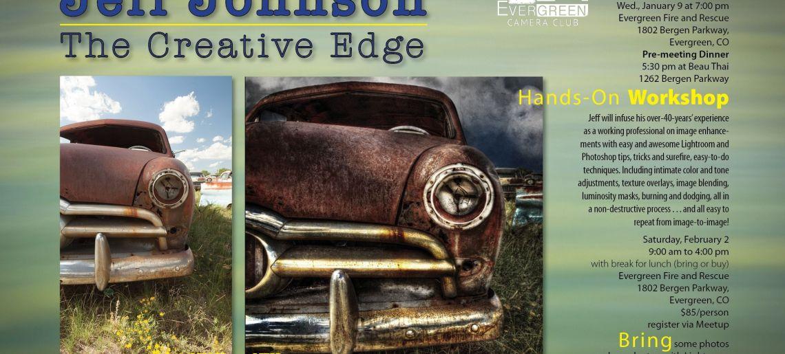 Jeff Johnson: The Creative Edge
