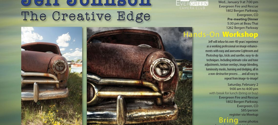 Jeff Johnson: The Creative Edge