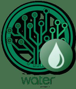 EverGreenCoin Water Logo