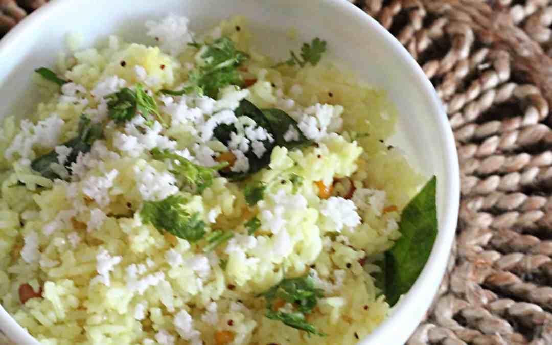 Lemon rice for festive season