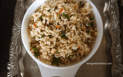 Veg fried rice recipe | How to make chinese fried rice