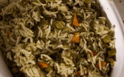 Vegetable Pulav Recipe
