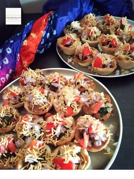baked katori chaat