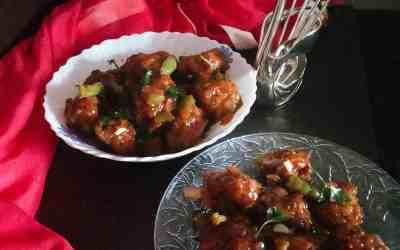veg manchurian | dry veg manchurian recipe