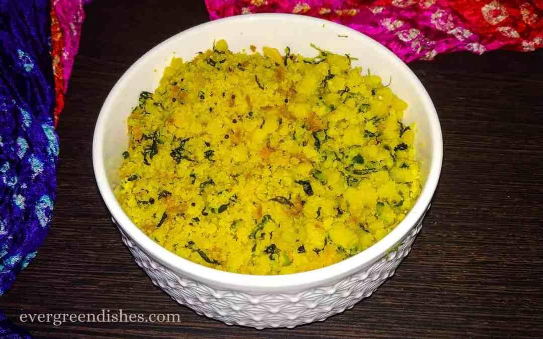 Menthe Matvadi Palya | Matodi Palya | Karnataka recipes