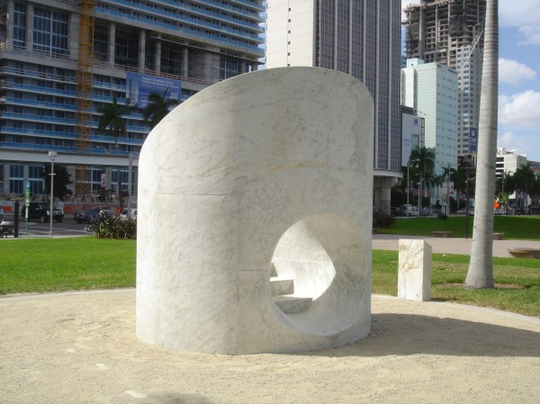 Isamu Noguchi' Slide Mantra Sculpture - Evergreene