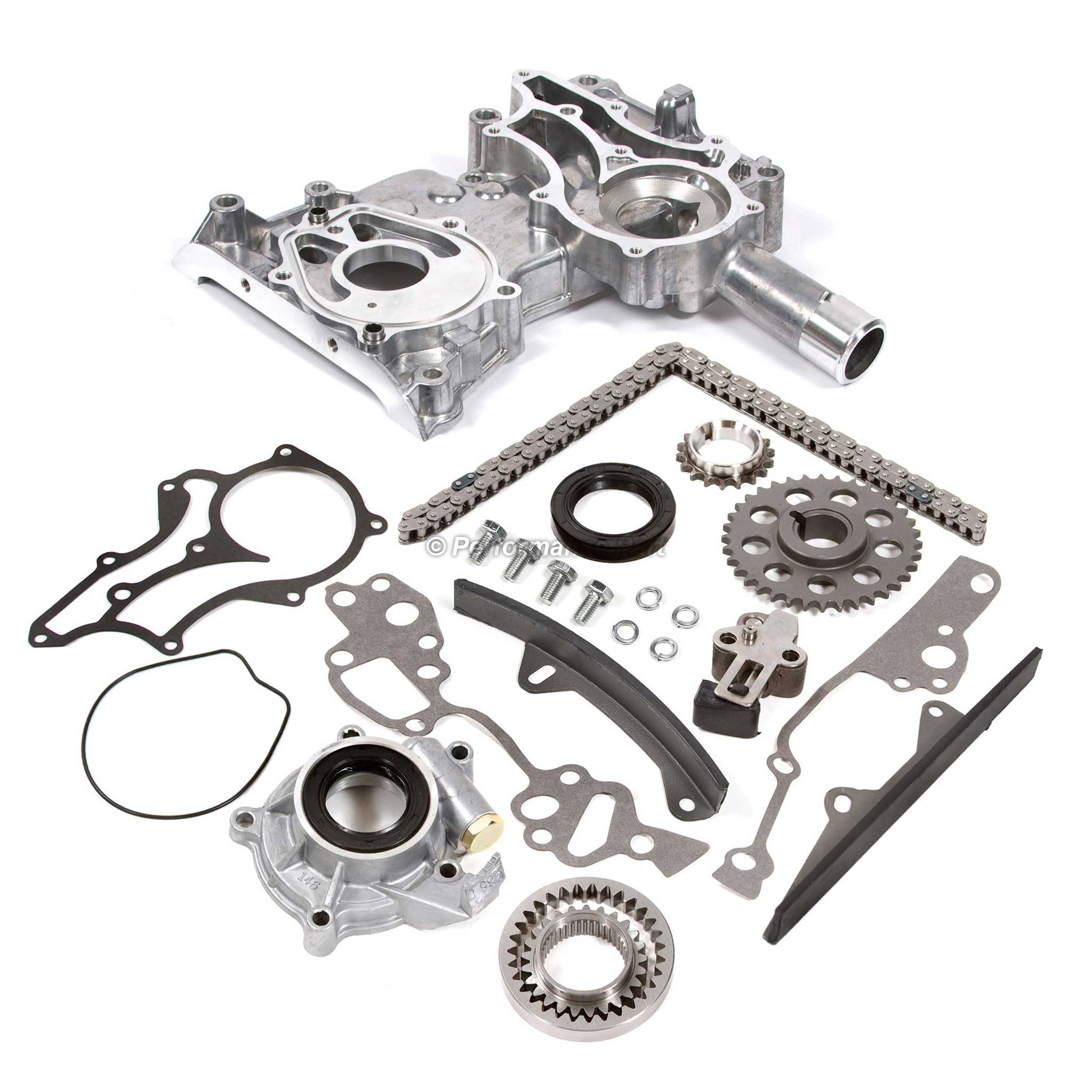 85 95 Toyota 22r 22re Timing Chain Kit W 2 Metal Guides