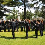 Fort Atkinson High School Band on Memorial Day