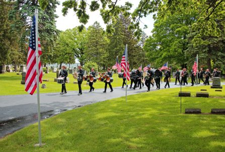 The Blackhawk Band on Memorial Day