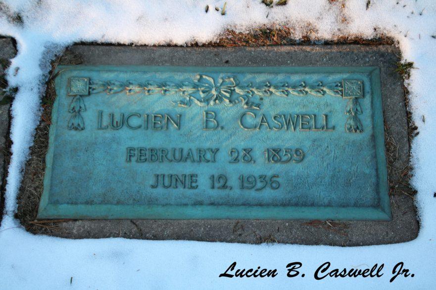 Lucien B. Caswell Jr. Marker