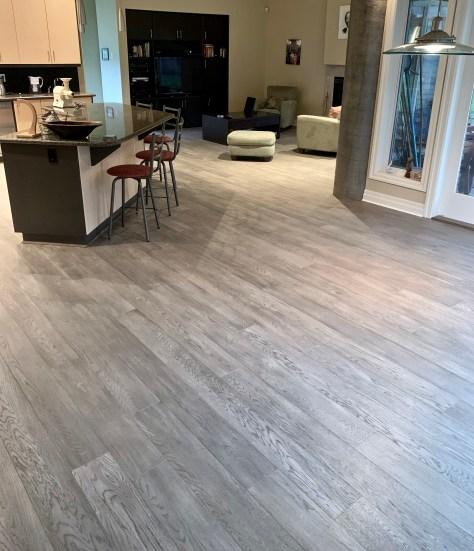 oak engineered hardwood floor install