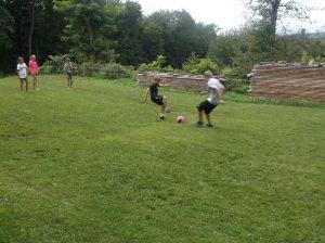 kickball play