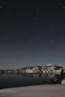Crater Lake at Night 2