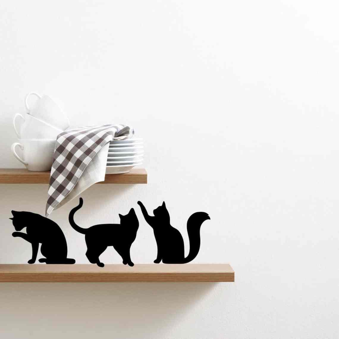 adesivo-murale-gatti-giocherelloni