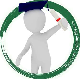 Evergreen Tutoring Services logo.