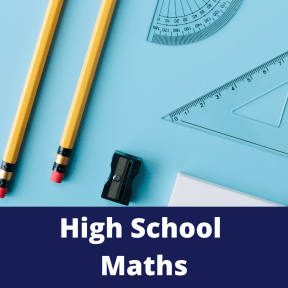 Tutoring for high school.  Maths equipment including pencils, sharpeners and protractors.  Maths tutoring for high school.