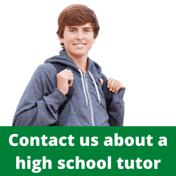 Happy high school student. Contact us about a tutor.