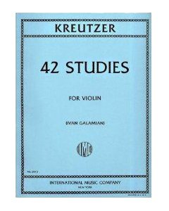 Kreitzer 42 Studies for Violin - IMC