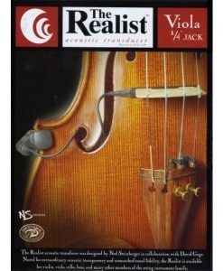 Realist Acoustic Viola Pickup 1/4 Plug