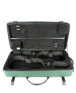 "Bam France 2006S Classic 16"" 3/8 (41.5 cm) Viola + Violin case - Green"