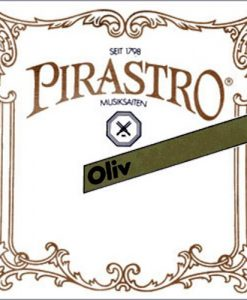 Pirastro Oliv 4/4 Violin E String - Medium - Gold-Plated/Steel - Ball End