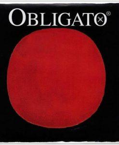Pirastro Obligato 4/4 Violin E String - Medium - Gold-Plated/Steel Loop End