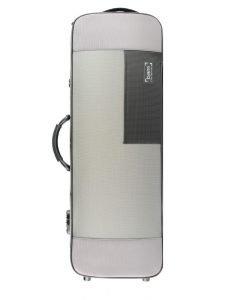 "BAM 5141S Stylus Grey/Silver 16-3/8"" Oblong Viola Case"