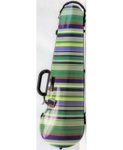 Bam France 2002XL Contoured Hightech Limited Edition CL 4/4 Violin Case (Stripes)