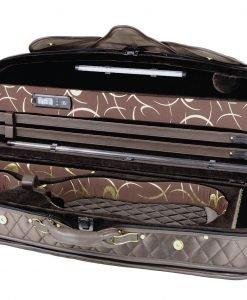 Pedi Model 8300 4/4 Violin Case - Chocolate/Dark Brown