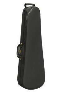 Super Light Shaped Violin Case Black Shaped